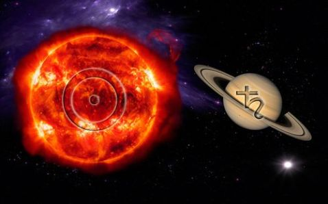 Image result for saturn conjunct sun