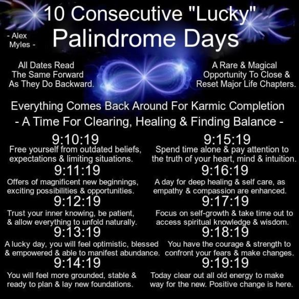 Palindrome Week  Spiritual Meaning And End Of The Century